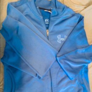 Ladies Under Armour Zippered Fleece Jacket